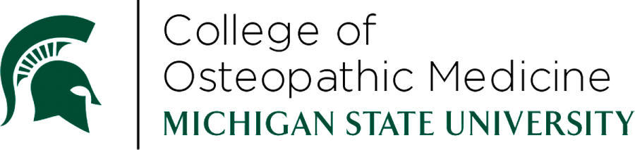 Michigan State University, College of Osteopathic Medicine Logo